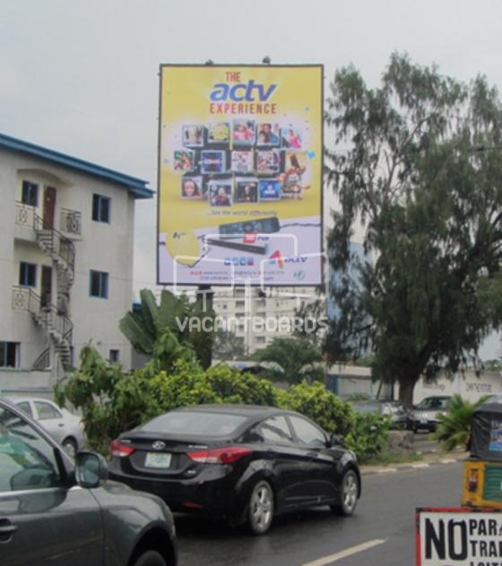 Portrait Billboard, Ahmadu Bello Way, Lagos