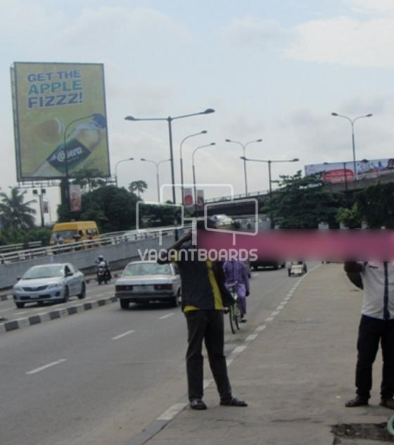 Portrait Billboard, Race Course, Lagos