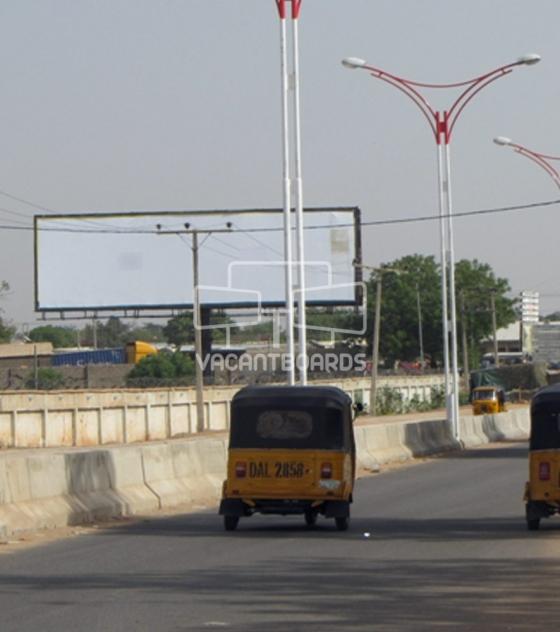 Unipole Billboard, Airport Road, Kano
