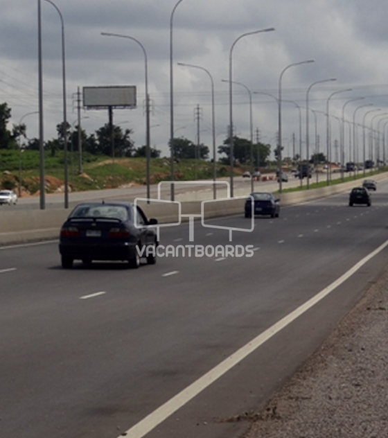 Unipole Billboard, Airport Road, Abuja
