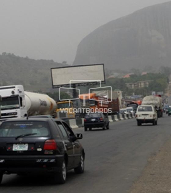 Unipole Billboard, Abuja Expressway, Abuja