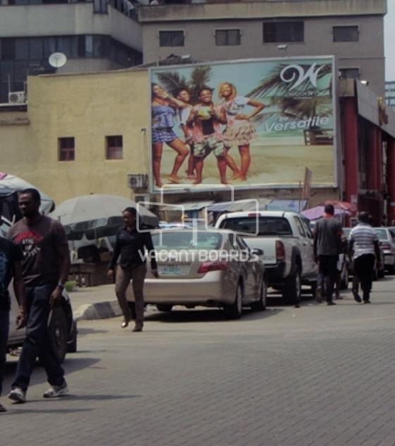 Wall Drape, Broad Street, Marina, Lagos