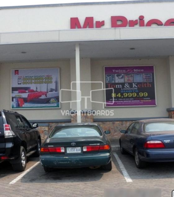 Backlit Billboard – Ikeja City Mall, Ikeja, Lagos.
