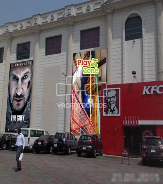 Wall Drape – City Mall, Onikan, Lagos
