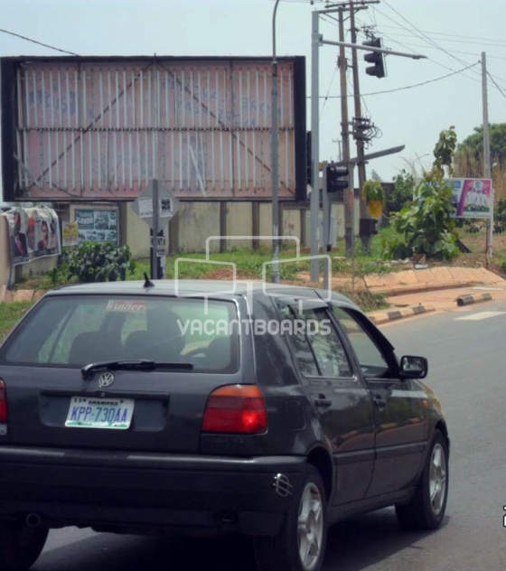 Backlit Billboard – ESUT Road, Enugu