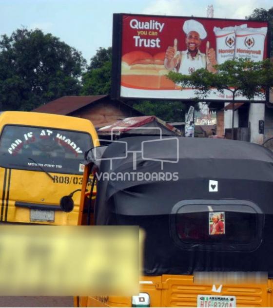 Backlit Billboard – Ogui Road, Enugu