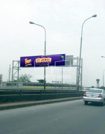 Gantry Billboard - Carter Bridge,Lagos