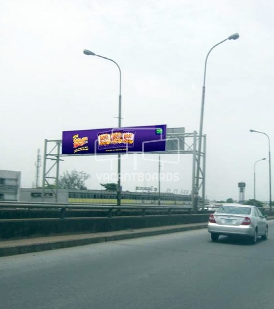 Gantry Billboard – Carter Bridge,Lagos