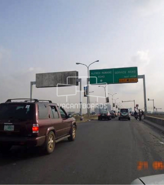 Gantry Billboard – Falomo Road, Lagos