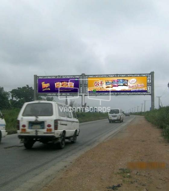 Gantry Billboard – Lagos Ibadan Expressway, Ibadan