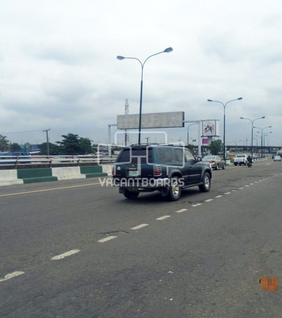 Gantry Billboard – Obalende Adeniji Adele Bridge, Lagos