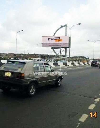 LED Billboard - Adeniji Adele, Third Mainland Bridge