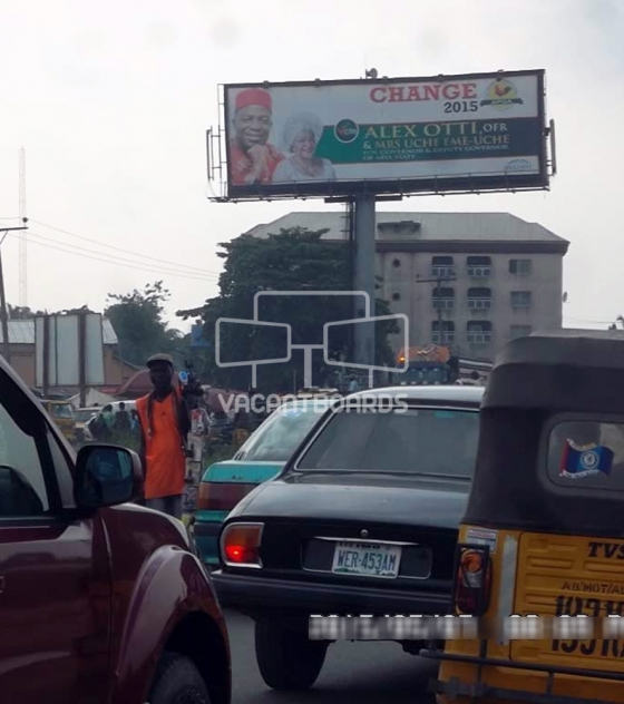 Unipole Billboard – Aba Road, Aba