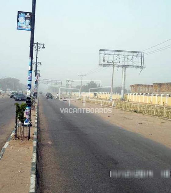 Unipole Billboard – Airport Road, Maiduguri, Borno