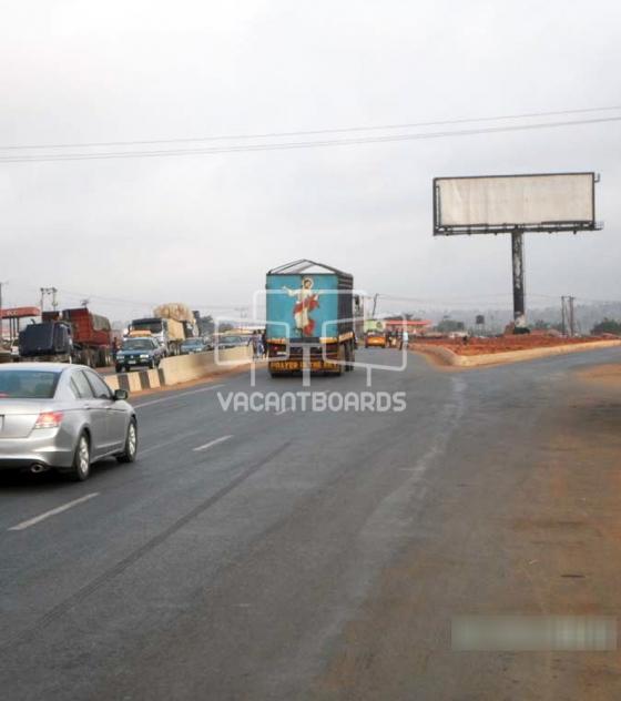 Unipole Billboard – Benin Lagos Road, Benin