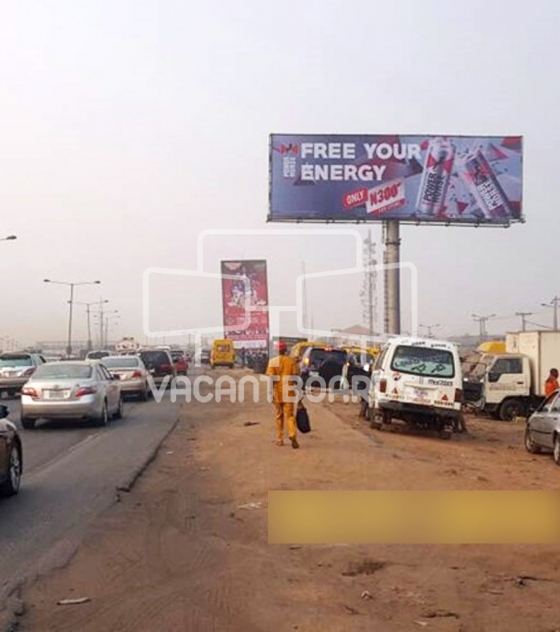 Unipole Billboard – Berger, Lagos Ibadan Expressway