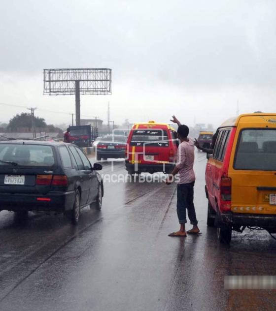 Unipole Billboard – Lagos Benin Road, Benin