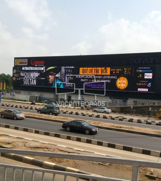 Maryland Mall LED Billboard, Lagos
