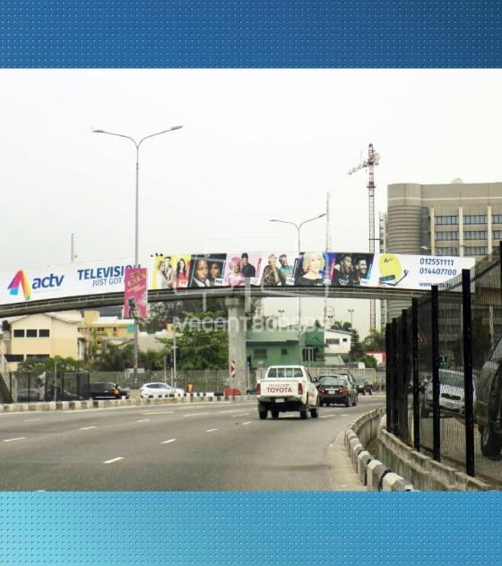 Bridge Panel Billboard, Oriental Hotel, Ozumba Mbadiwe, Victoria Island