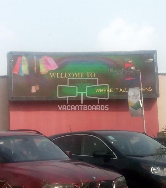 LED Billboard – Festival Mall, Festac, Lagos