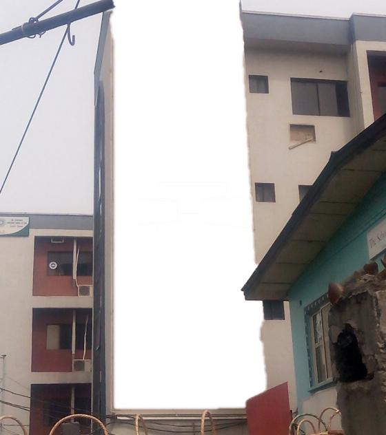 Wall Drape Billboard – Adeniyi Jones, Ikeja, Lagos