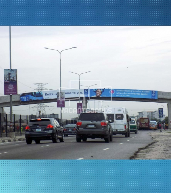 Bridge Panel Billboard – Lekki Epe Expressway 1st Roundabout