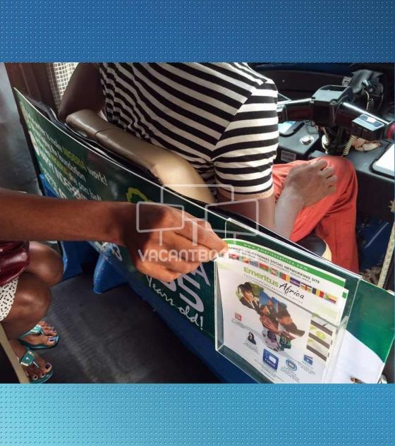 Keke Transit Advertising – Leaflet Holder