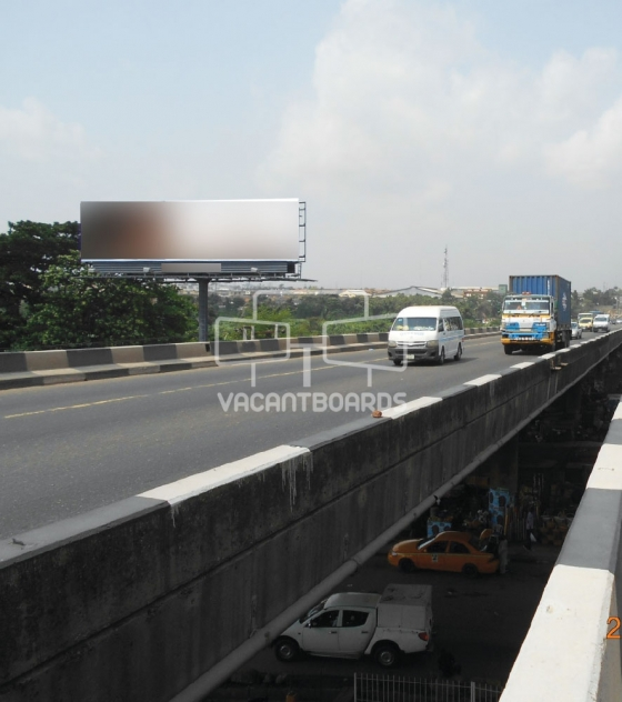 Unipole Billboard – Maryland, Lagos
