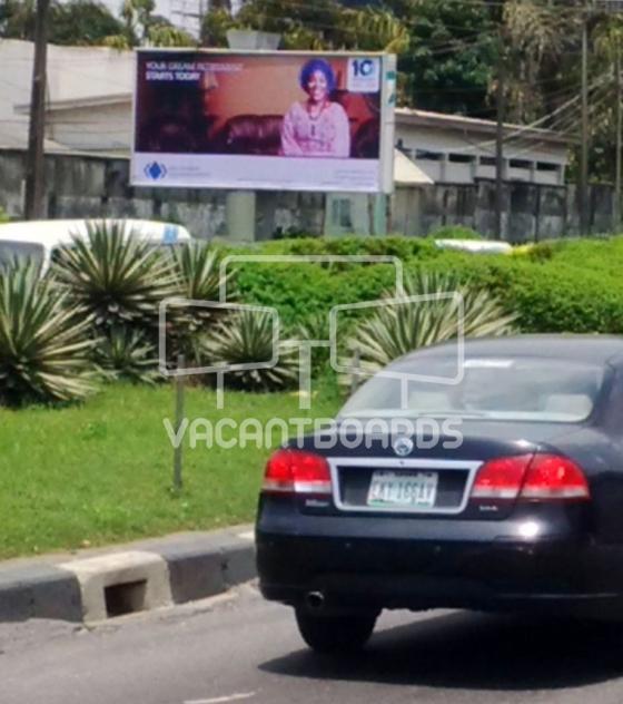 Backlit Billboard – Marriage Registry, Alfred Rewane Road, Ikoyi