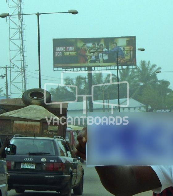 Unipole Billboard – Ikpoba Hill, Benin