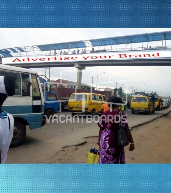 Bridge Panel Billboard – Ijaiye, Abeokuta Expressway, Lagos