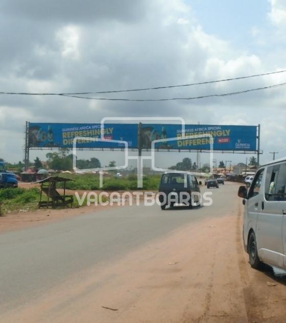 Gantry Billboard – Agbor Byepass, Benin