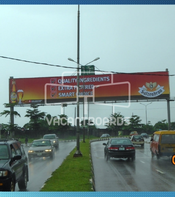Gantry Billboard – Airport Road, Benin