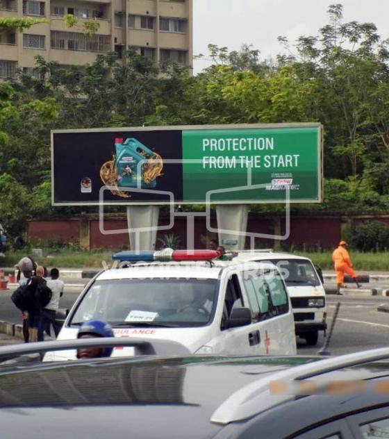 Large Format Billboard – Ozumba Mbadiwe, Victoria Island, Lagos