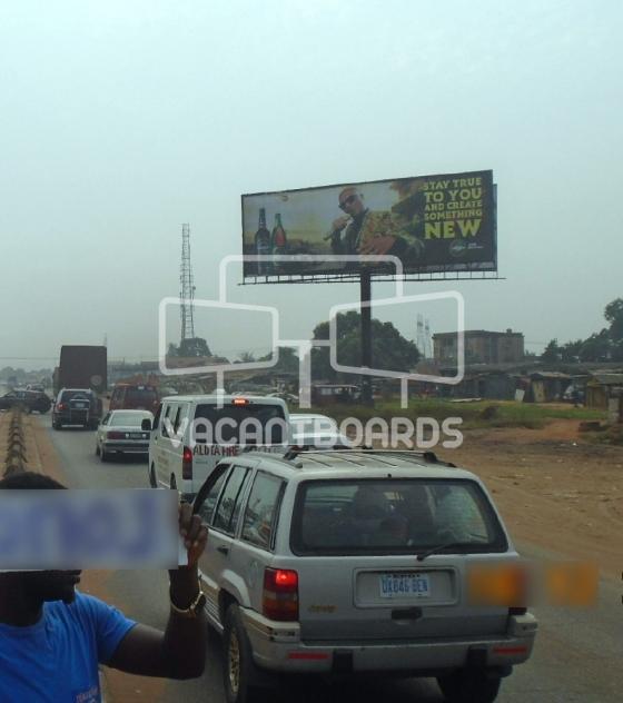 Unipole Billboard – Agbor Road, Benin