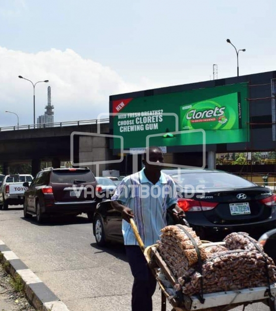 LED Billboard – Ahmed Bello Way, Victoria Island