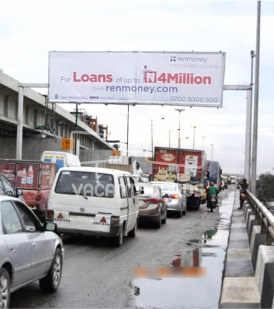 Eye Catcher Billboard – Marina Bridge, Lagos Island