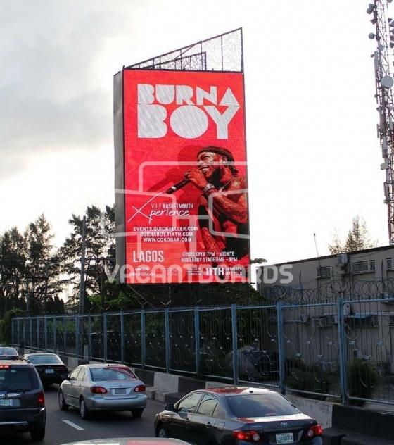 LED Billboard – Osbourne Road, Ikoyi