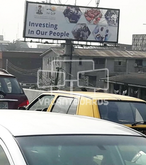 Unipole Billboard – Mobolaji Bank Anthony Way, Ikeja