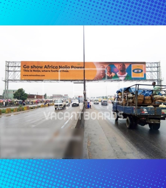 LED Gantry Billboard – Oshodi, Lagos
