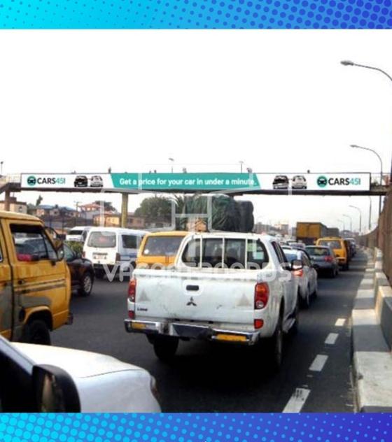 Bridge Panel Billboard – Car Wash Bus Stop, Oworonshoki Expressway