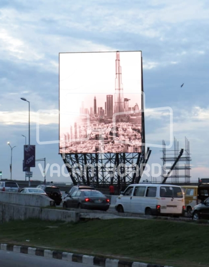 Digital Billboard – Falomo, Ikoyi