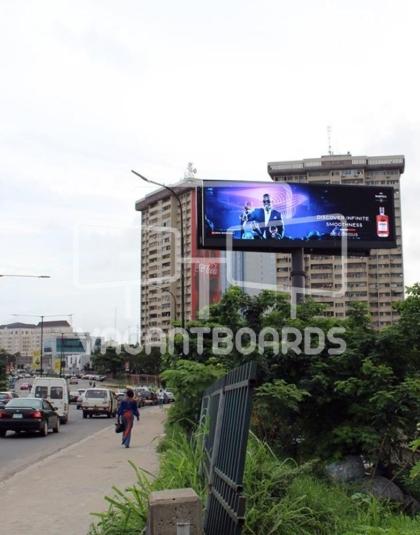 Digital Unipole Billboard – Akin Adesola, Victoria Island