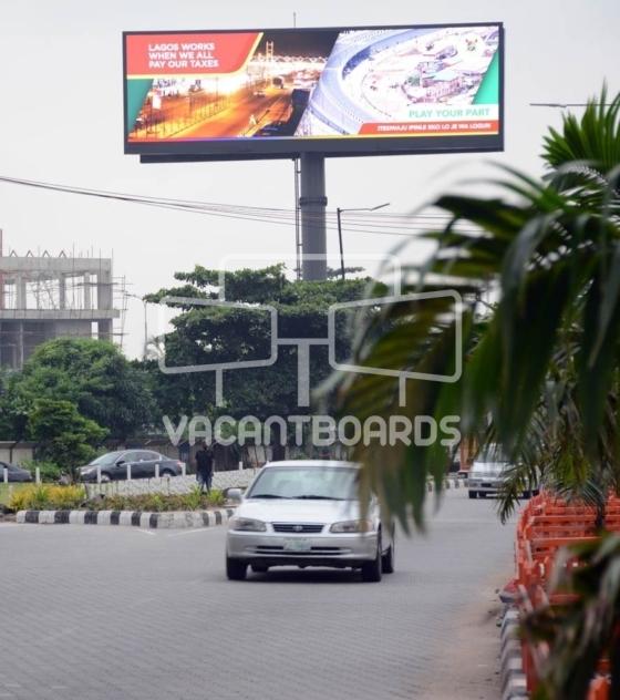 Digital Unipole Billboard – Akin Adesola Street, Victoria Island