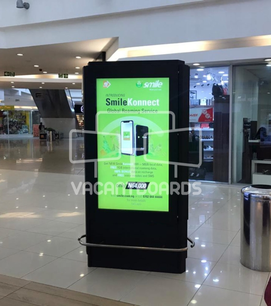 Digital Screen – Jabi Lake Mall, Abuja