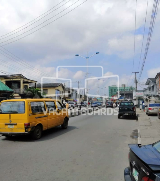 Lamp Posts Advertising – Adelabu Street, Surulere