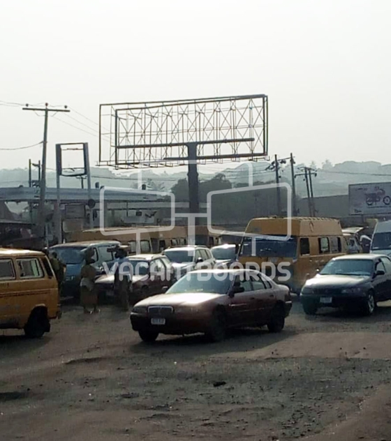 Unipole Billboard – Sango Toll Gate