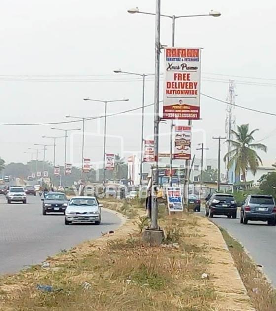 Lamp Posts – Festac Access Road, Lagos