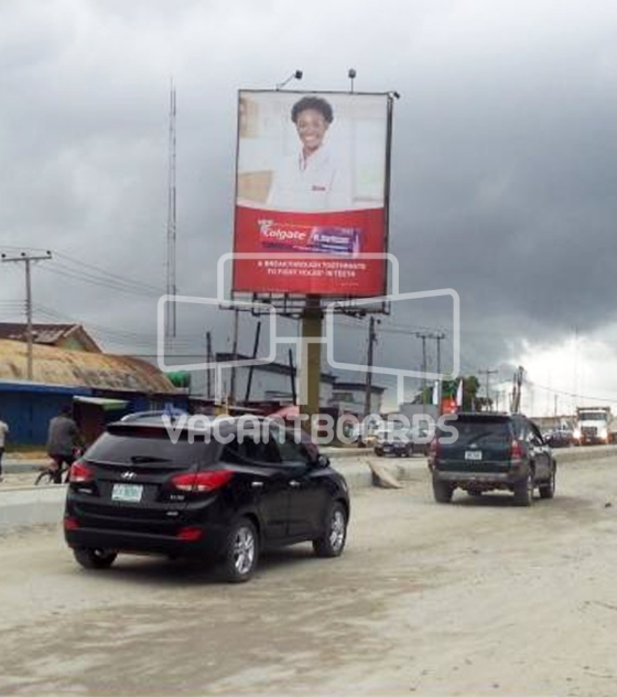 Portrait Billboard – Trans Amadi Layout, Port Harcourt