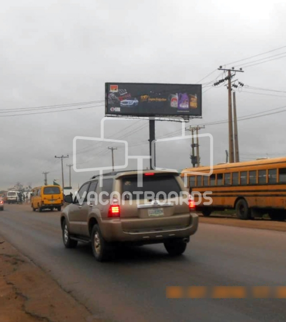 Unipole Billboard – Lagos Ibadan Expressway, OPIC